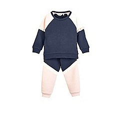 Outfit Kids - Girls' navy tracksuit