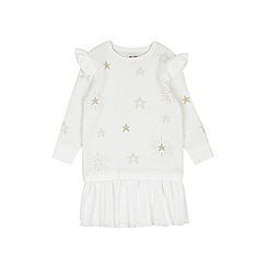 Outfit Kids - Girls' white knitted dress