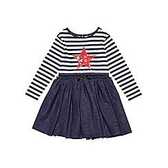 Outfit Kids - Girls' navy stripe jersey tutu dress