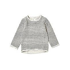 Outfit Kids - Girls' cream stripe sweat top