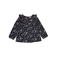 Outfit Kids - Girls' navy floral top