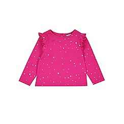 Outfit Kids - Girls' pink star print t-shirt