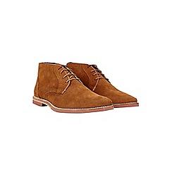 Burton - Tan suede desert boots