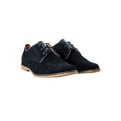 Burton - Black suede look desert shoes