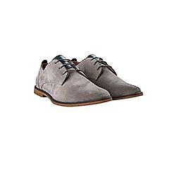 Burton - Grey suede look desert shoes