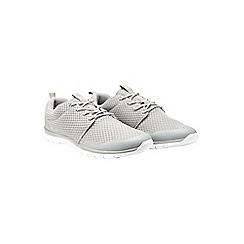 Burton - Grey mesh trainers