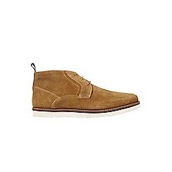 Burton - Beige suede boots