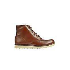 Burton - Tan leather boots