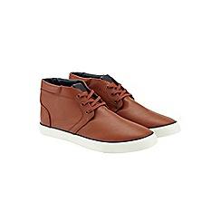 Burton - Navy chukka boots