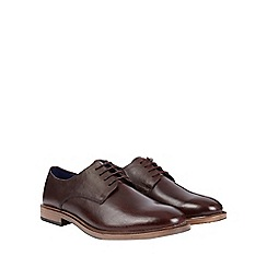 Burton - Burgundy leather shoes