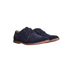 Burton - Blue suede look desert shoes