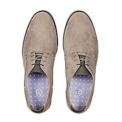 Burton - Grey suede look desert shoes