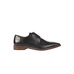 Burton - Black leather look shoes
