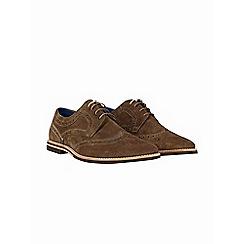 Burton - Khaki suede desert shoes