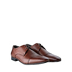 Burton - Brown leather formal shoes