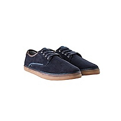 Burton - Navy casual trainers