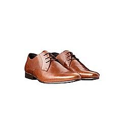 Burton - Tan leather formal shoes