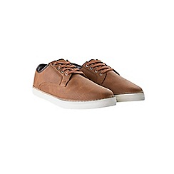 Burton - Tan casual trainers