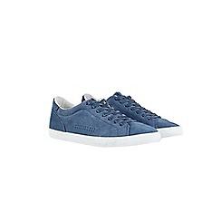 Burton - Blue suede trainers