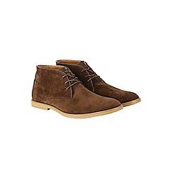 Burton - Brown desert boots