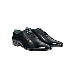 Burton - Black leather formal shoes