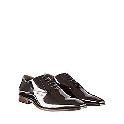 Burton - Black patent leather formal shoes