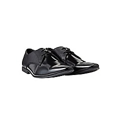 Burton - Black patent shoes