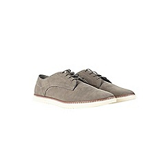 Burton - Grey suede look casual shoes