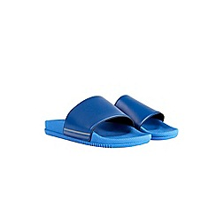 Burton - Blue slider flip flops