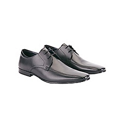 Burton - Black leather lace-up formal