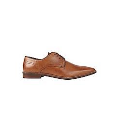 Burton - Tan leather look shoes
