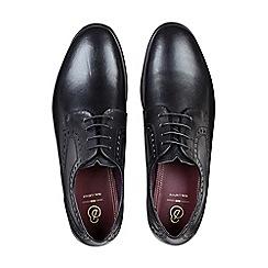 Burton - Black leather shoes