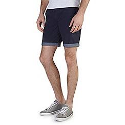 Burton - Navy chino shorts
