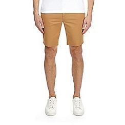 Burton - Tobacco stretch chino shorts