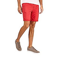 Burton - Red stretch chino shorts
