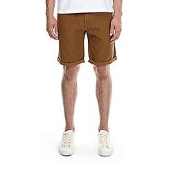 Burton - Tobacco stretch twill shorts