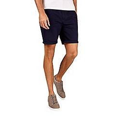 Burton - Navy stretch chino shorts