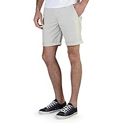 Burton - Light grey chino shorts