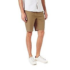 Burton - Tobacco chino shorts