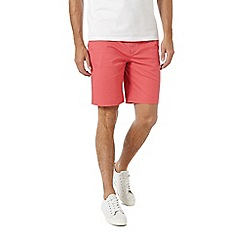 Burton - Washed red chino shorts
