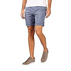Burton - Mid blue stretch chino shorts