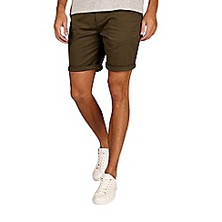 Burton - Khaki stretch chino shorts