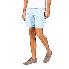 Burton - Light blue stretch chino shorts