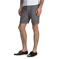 Burton - Dark grey chino shorts*
