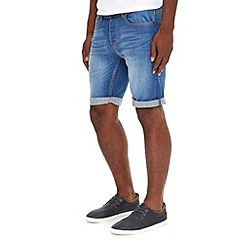 Burton - Mid wash denim short