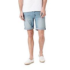 Burton - Bleach stretch denim shorts