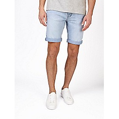 Burton - Bleach stretch denim shorts