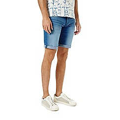 Burton - Bright blue denim shorts