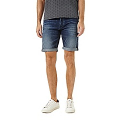 Burton - Dark wash stretch denim short
