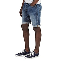 Burton - Mid wash denim shorts